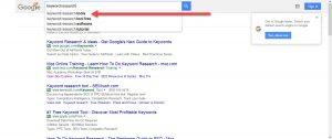 Getting Keyword Ideas via google suggest